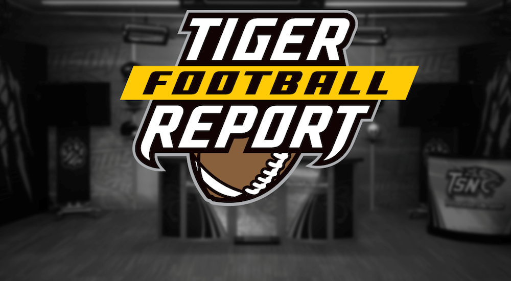Tiger Football Report Release Art