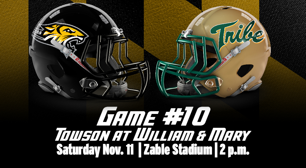 Game Day Central William Mary Towson University Athletics