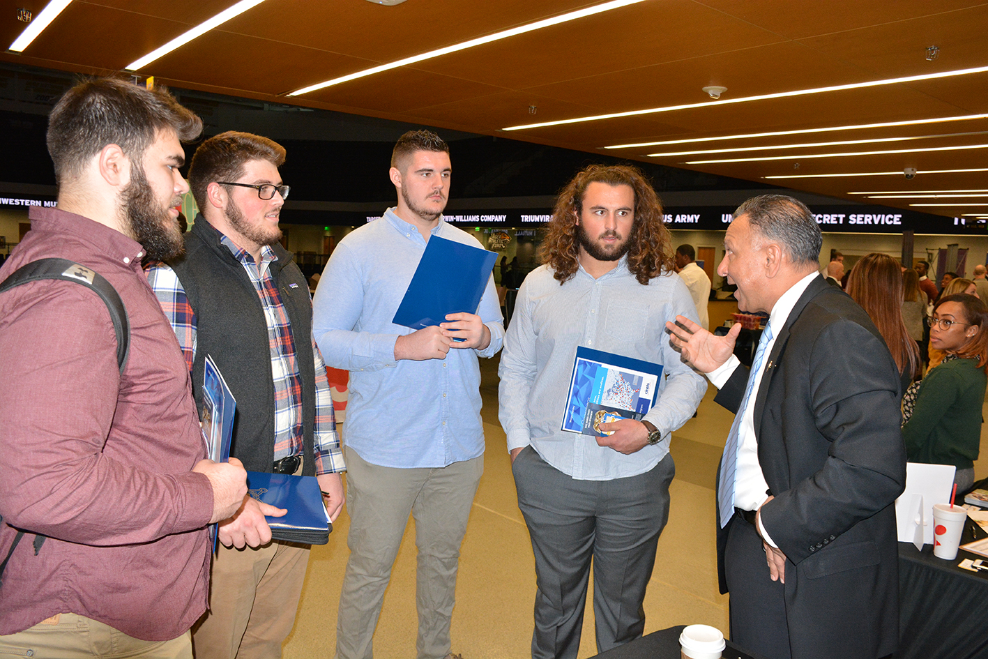 Career Fair Is A Home Run With Student-Athletes - Towson