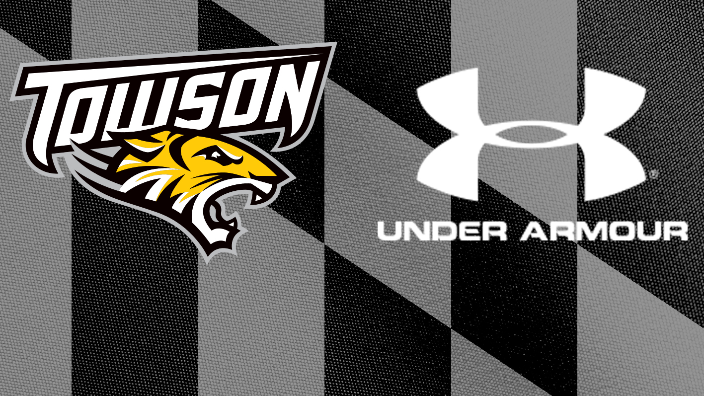new product a0c4b 798f9 Towson Announces Extension with Under Armour