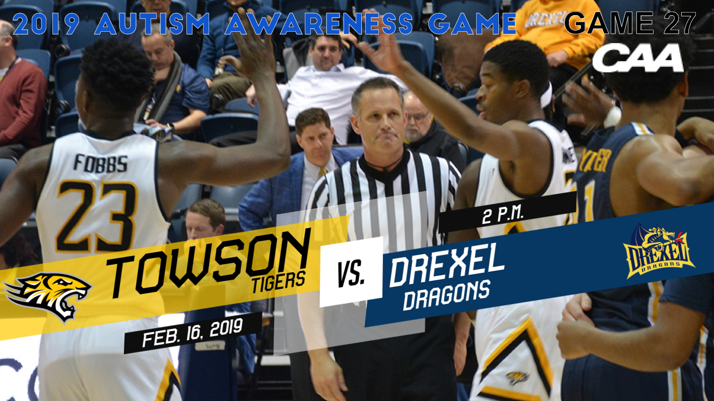 Autism Speaks Reports Double Digit >> Towson Hosts Drexel In Autism Awareness Game Towson University